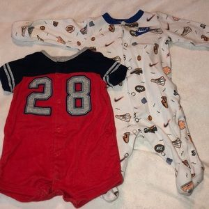 Sport pieces for baby!